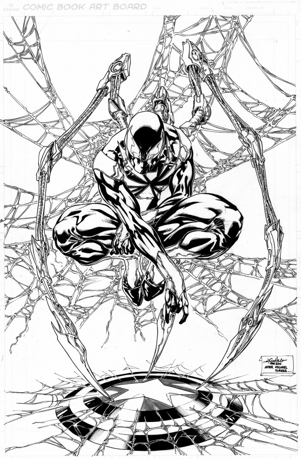 Iron Spider Coloring Pages At Getcolorings