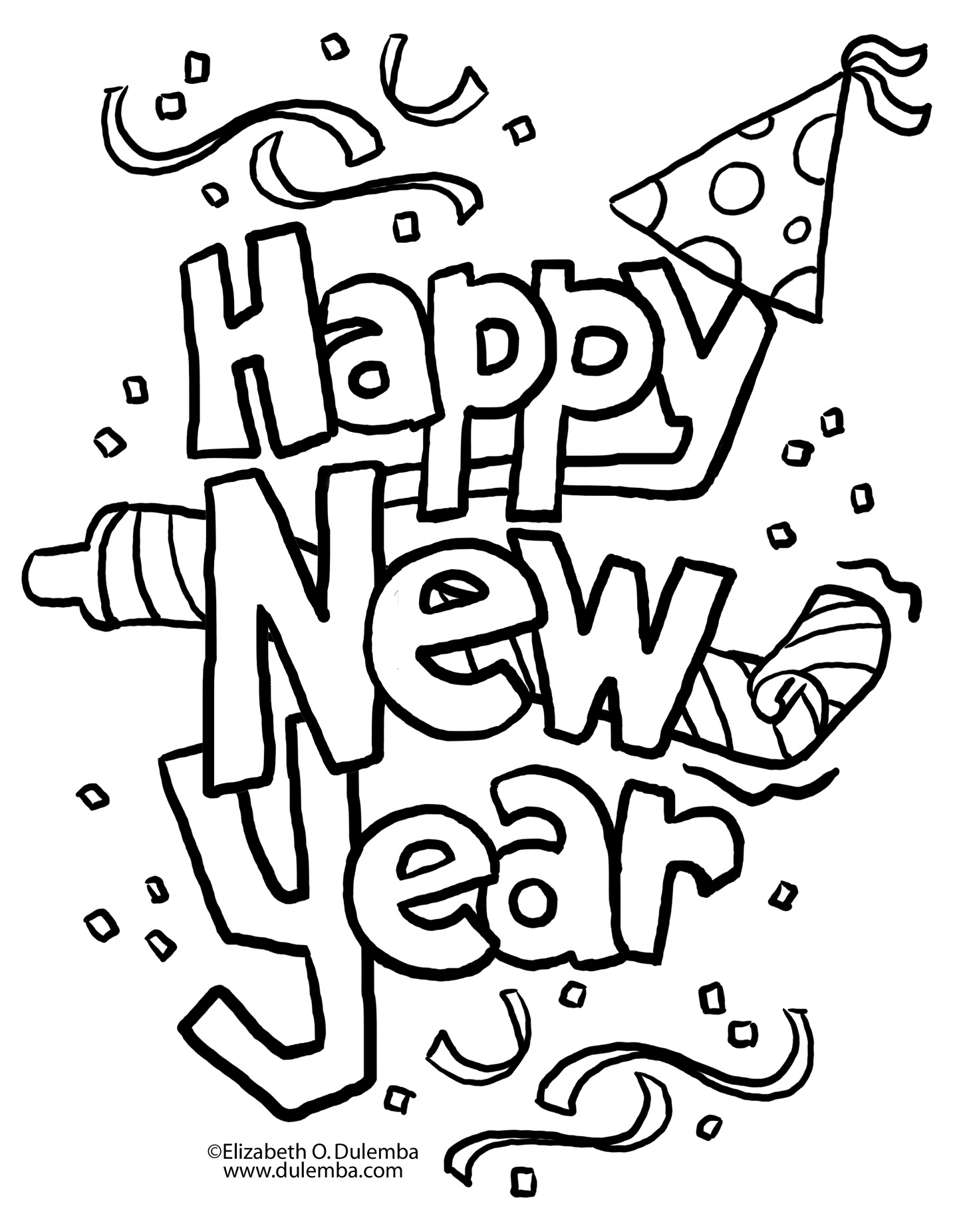 January Coloring Pages Free At Getcolorings
