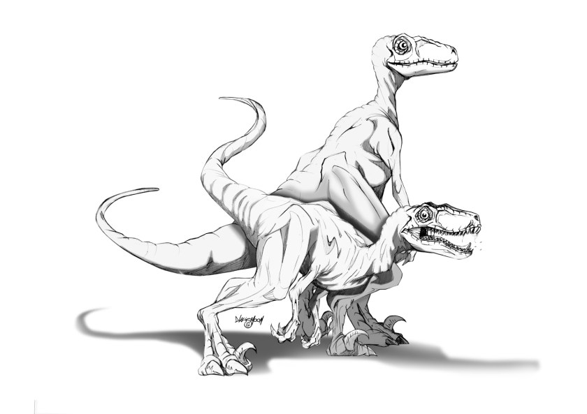 jurassic world raptor coloring pages at getcolorings