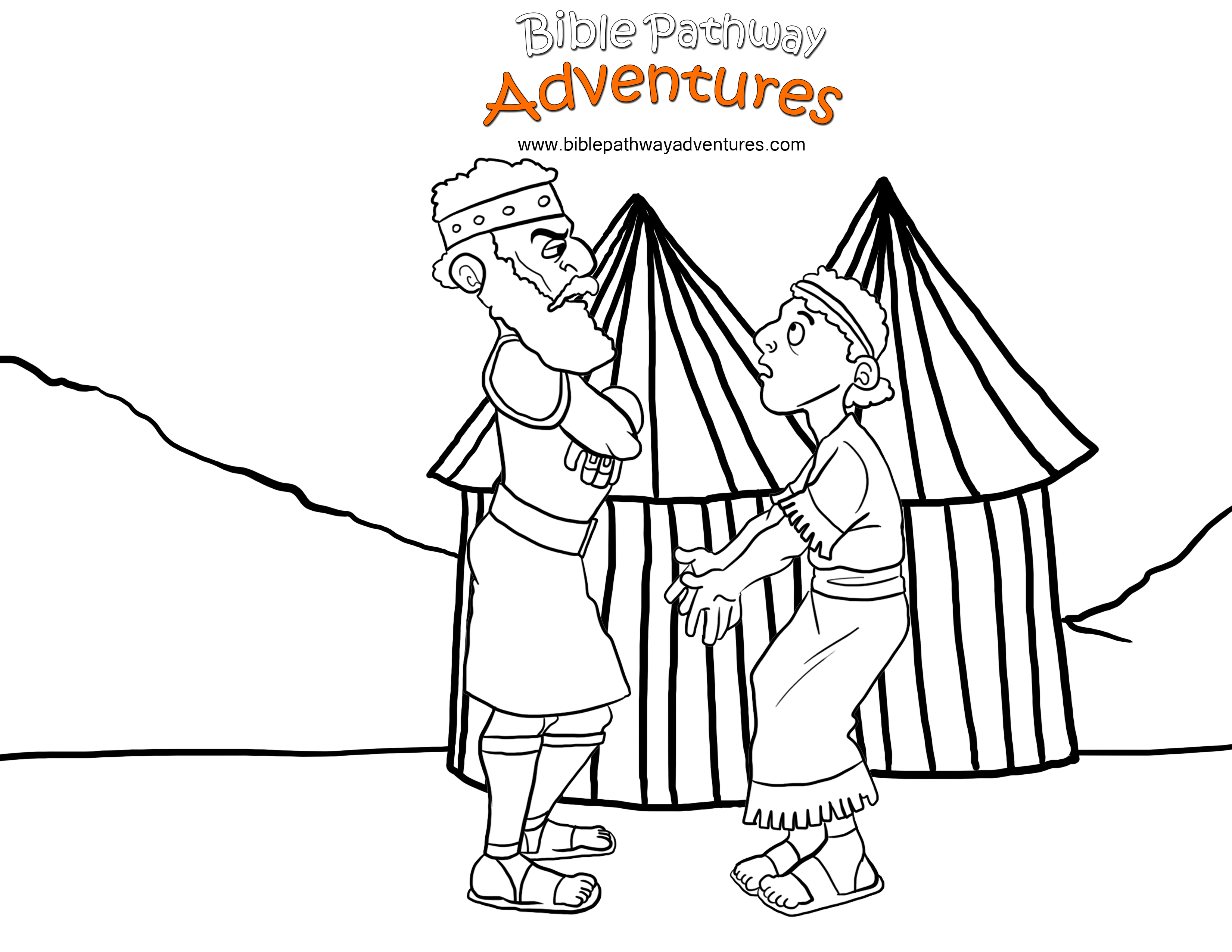 King Saul Coloring Page At Getcolorings