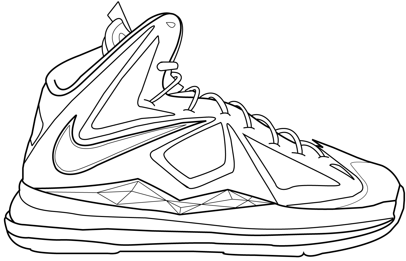 Lebron 11 Coloring Pages At Getcolorings