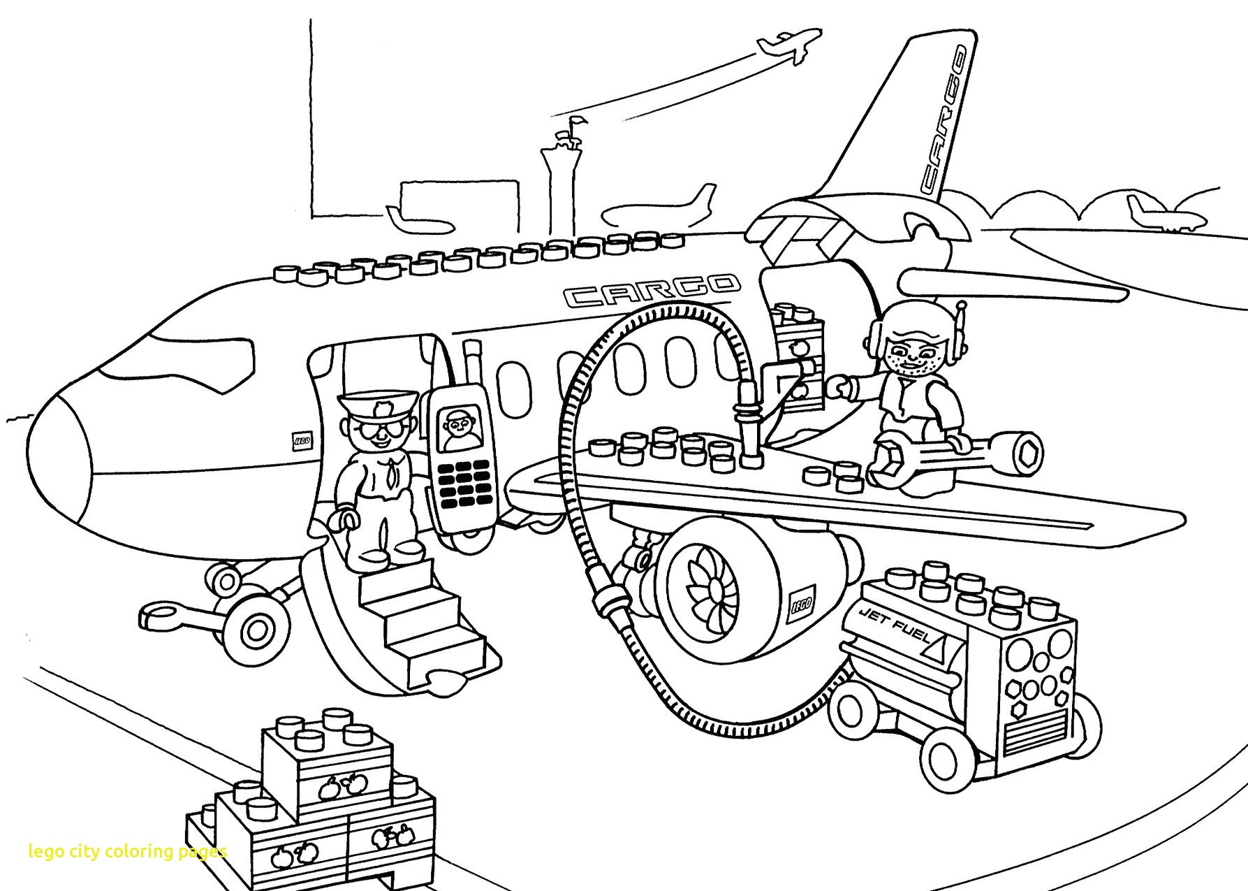 Fire Station Coloring Pages Kindergarten