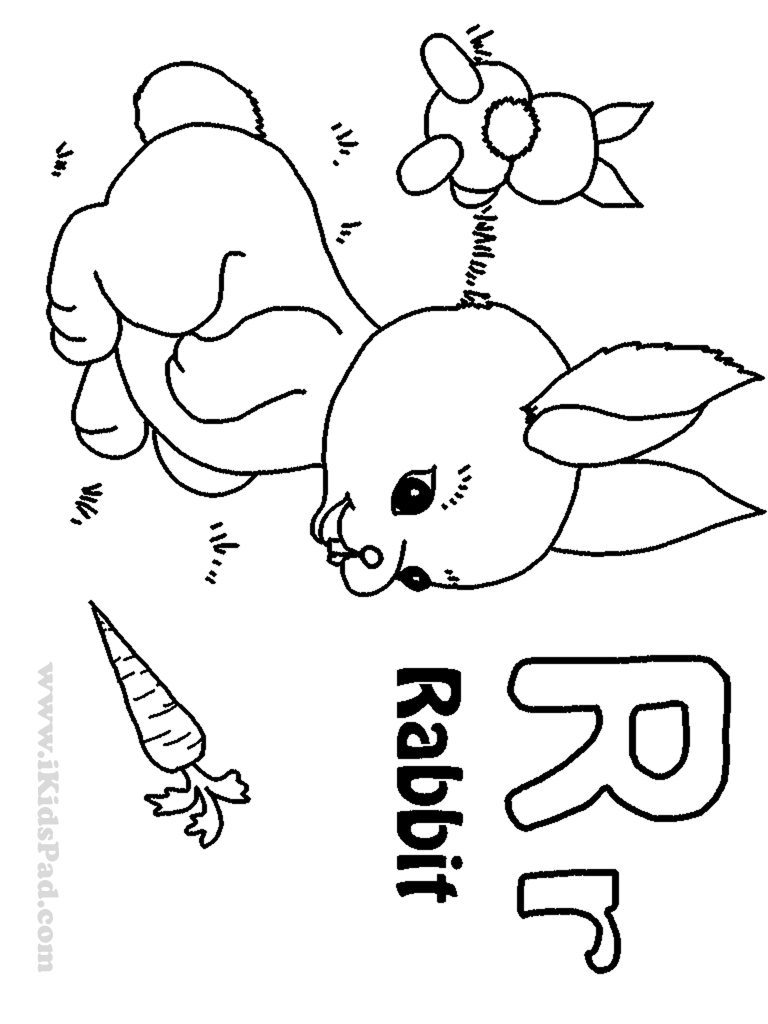 letter r coloring pages at getcolorings  free