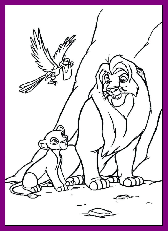 Lion King Coloring Pages Kiara At Getcolorings