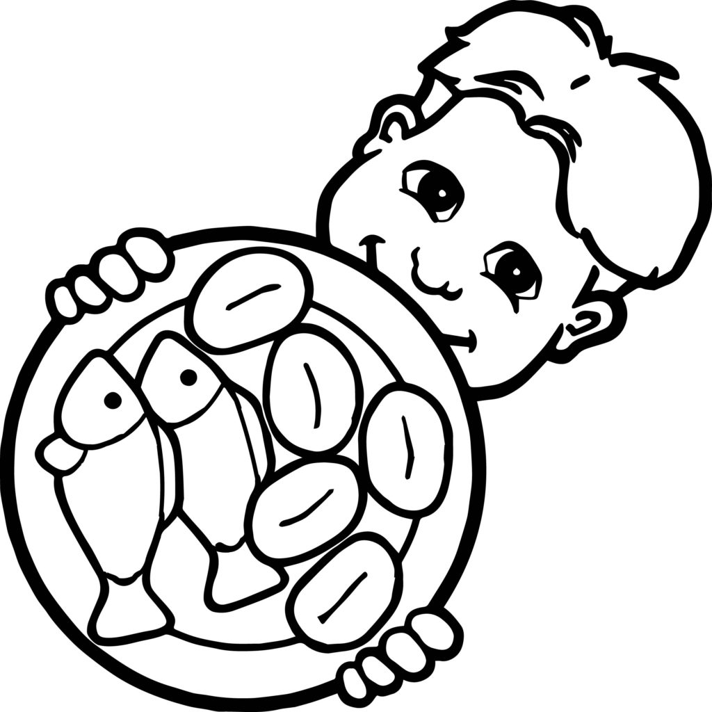 Loaves And Fishes Coloring Page At Getcolorings