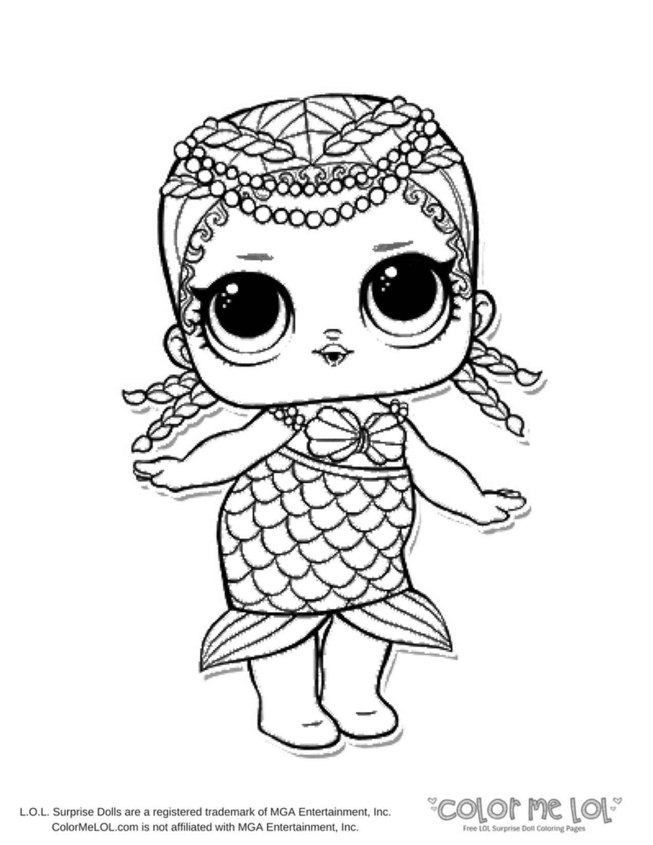 Lol Dolls Printable Coloring Pages At Getcolorings