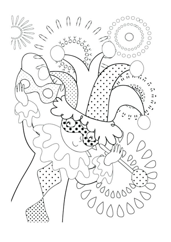 mardi gras coloring pages free printable # 82