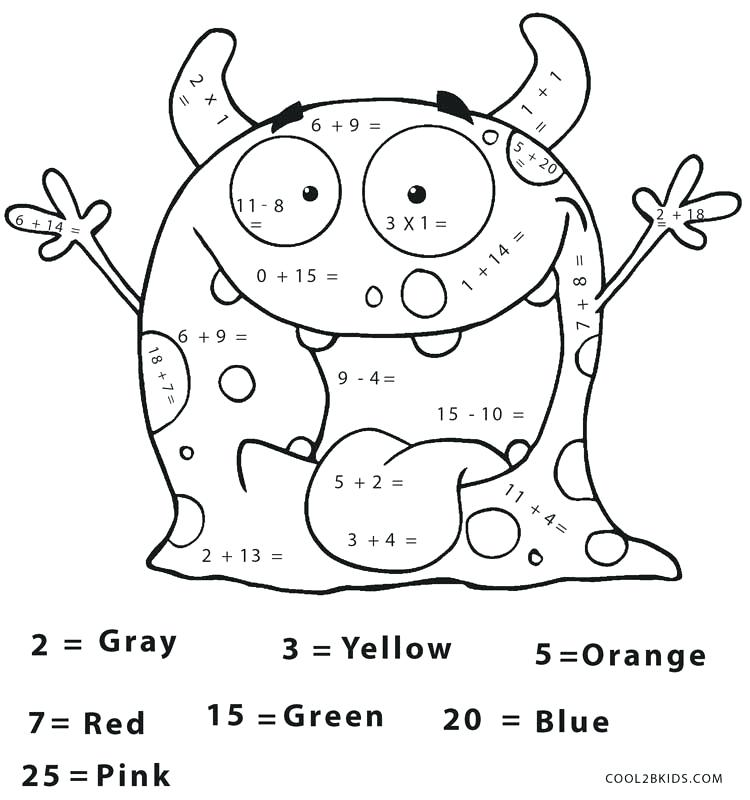 math coloring pages 3rd grade at getcolorings  free