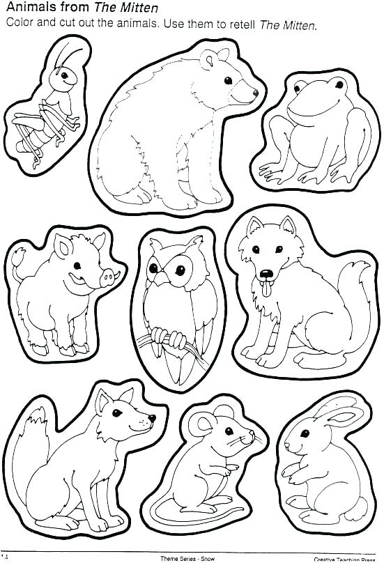 mitten coloring page at getcolorings  free printable