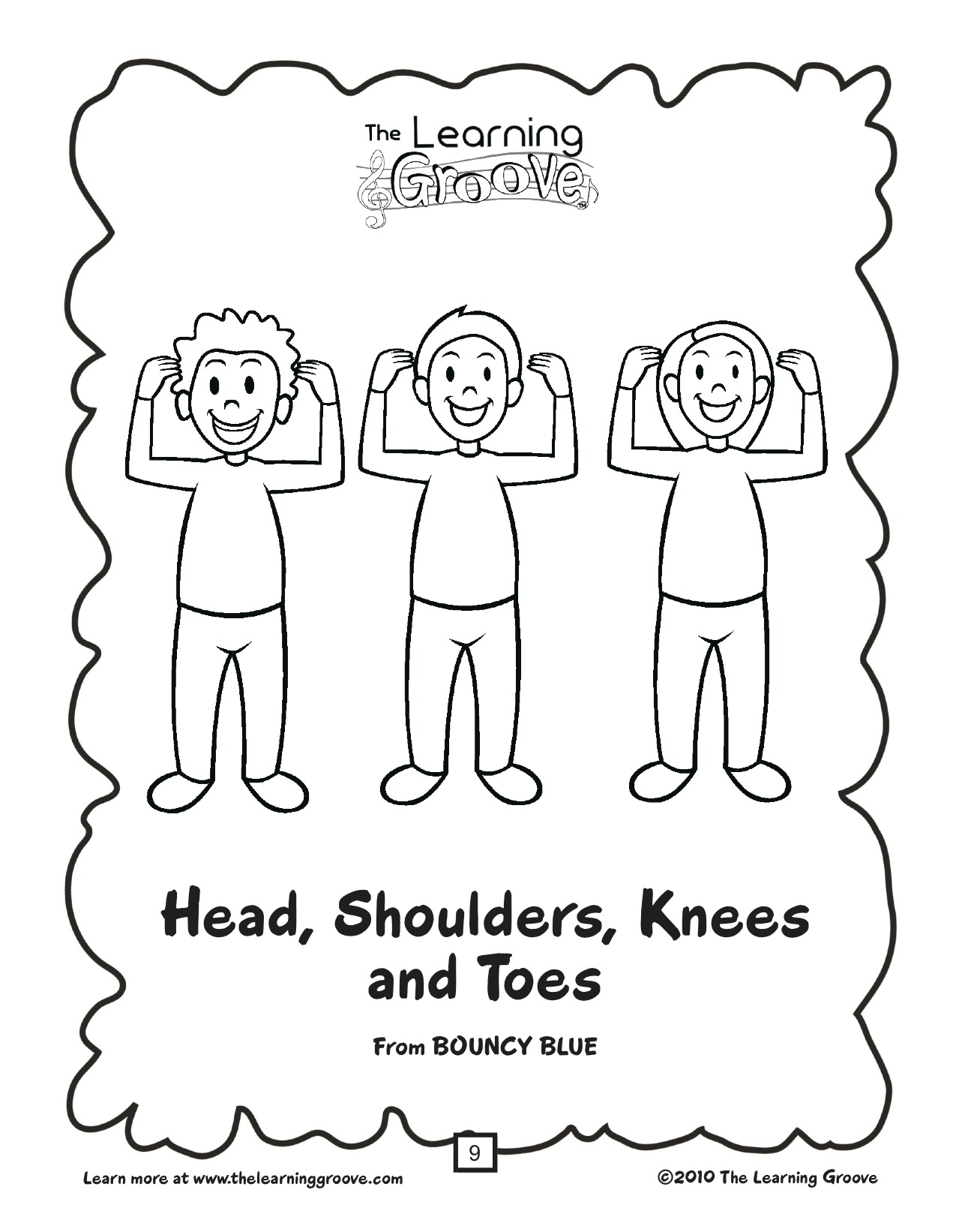 My Body Coloring Pages Preschool At Getcolorings