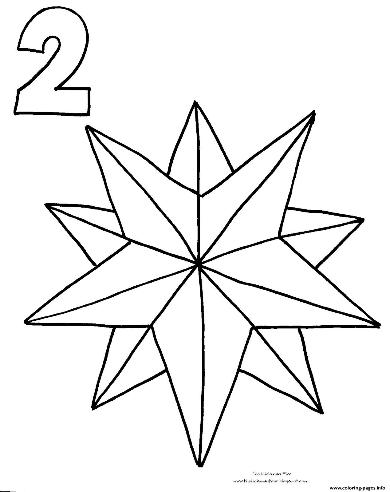 Nautical Star Coloring Pages At Getcolorings
