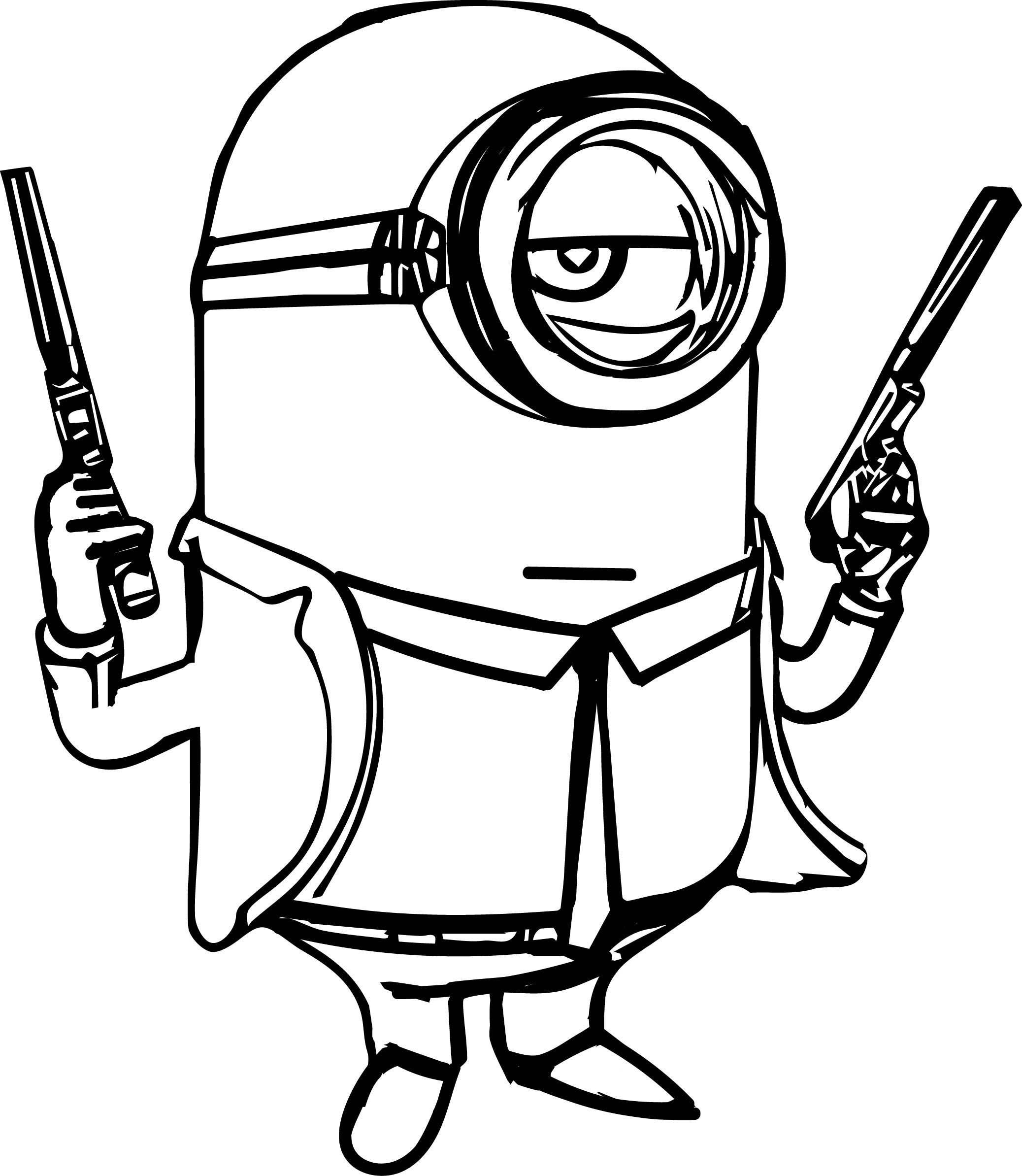 Nerf Gun Coloring Pages At Getcolorings