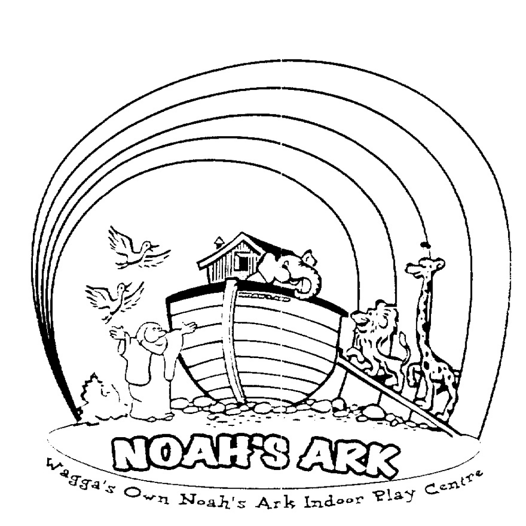 Noah And The Flood Coloring Pages At Getcolorings