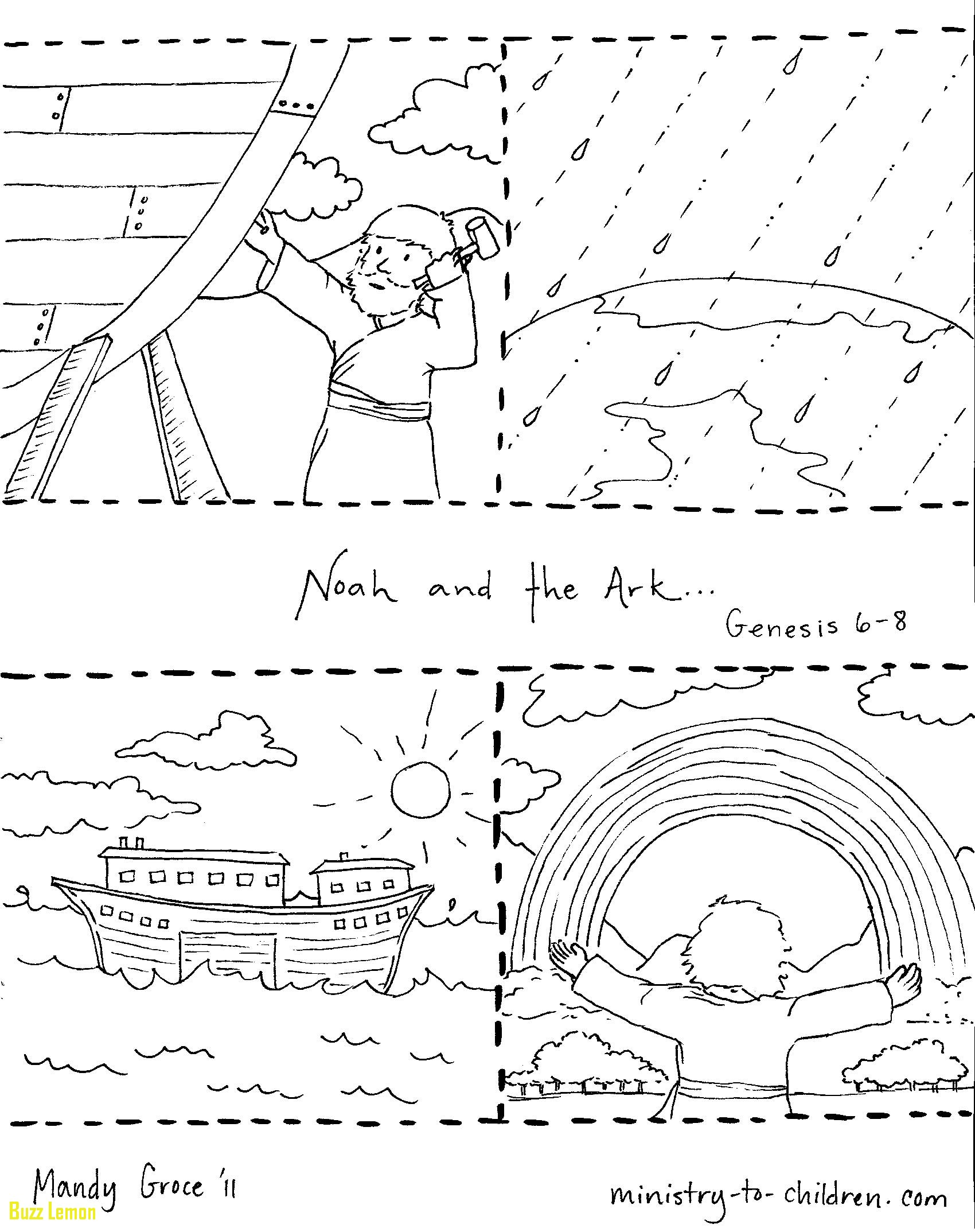 Noahs Ark Animal Coloring Pages At Getcolorings