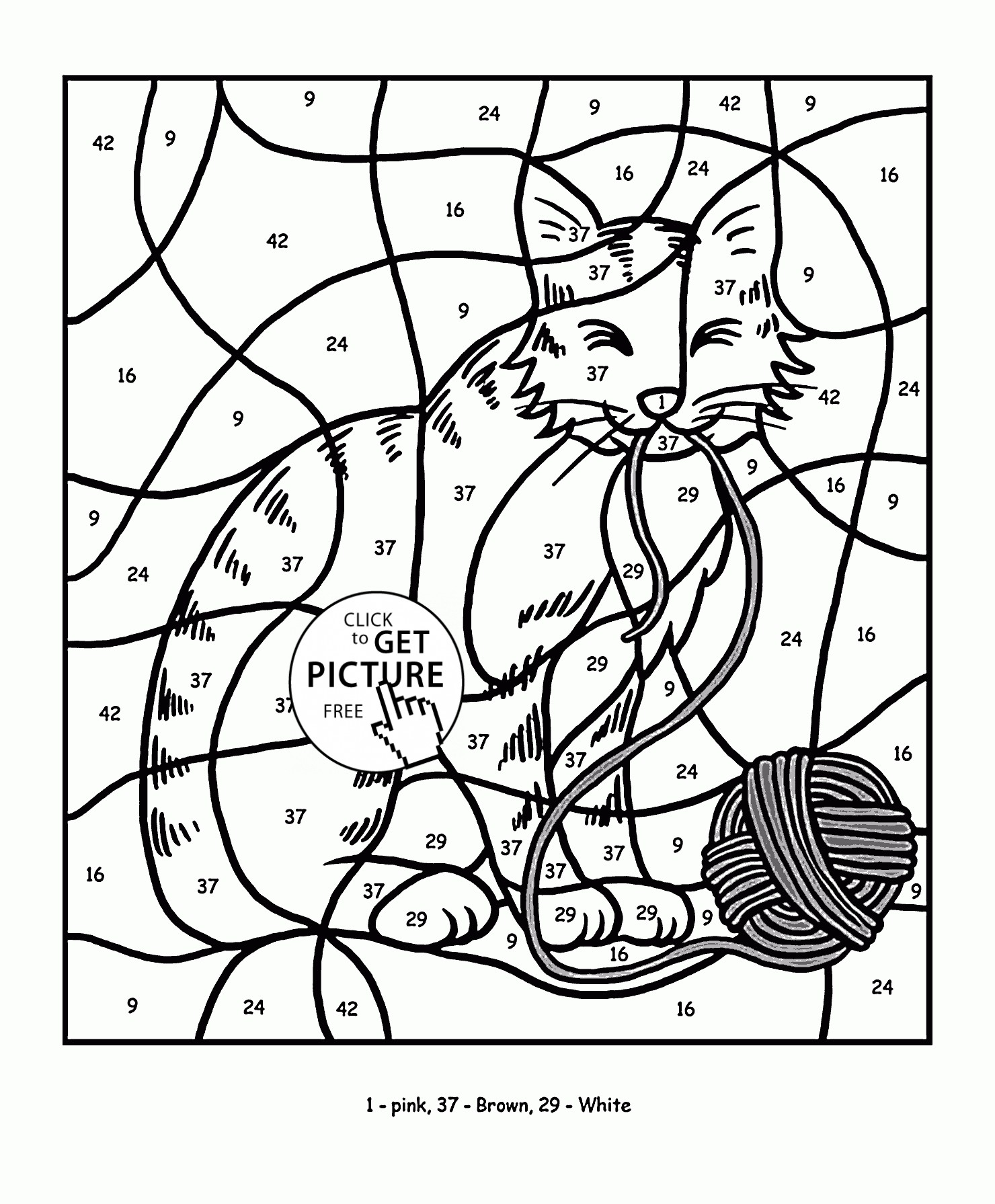 Number 19 Coloring Page At Getcolorings