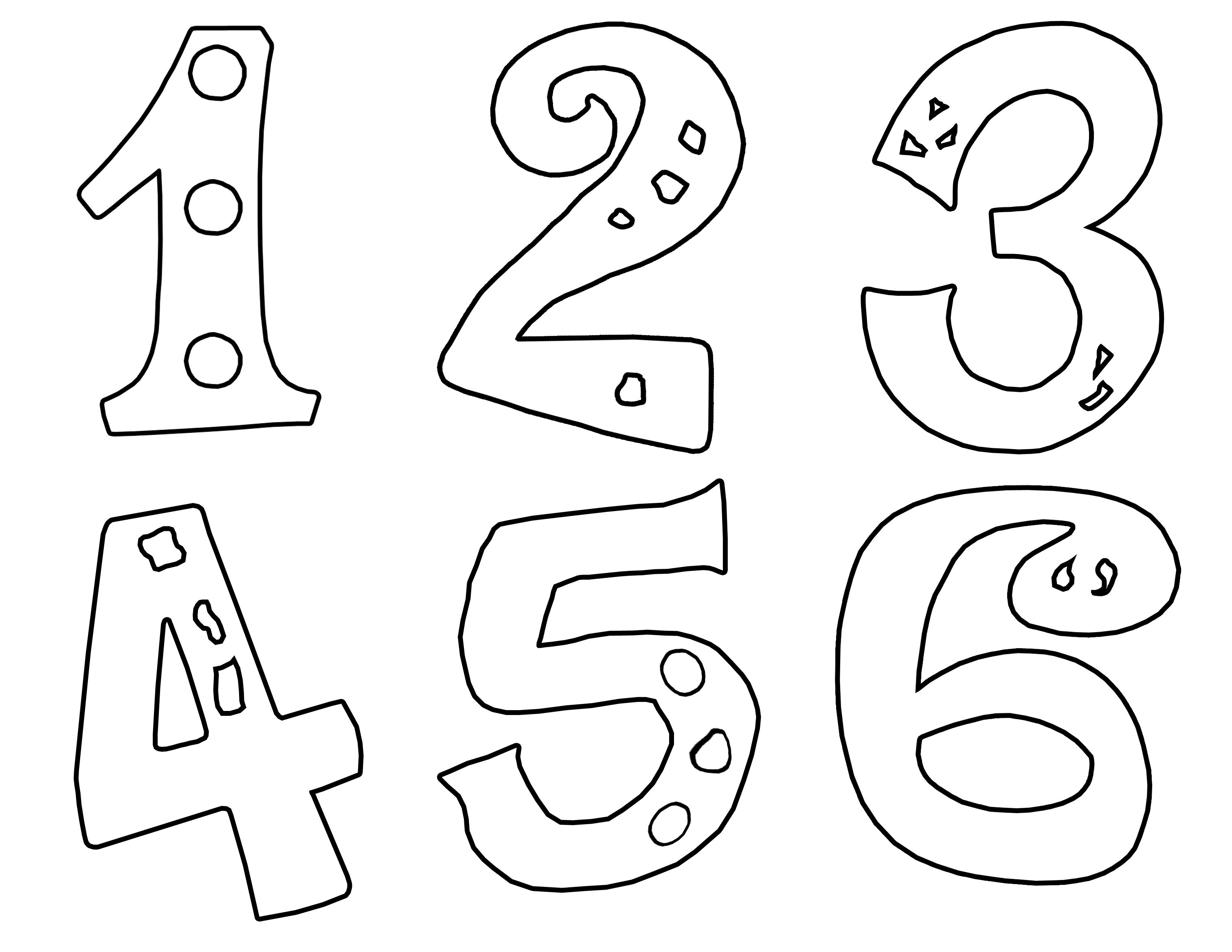 Spanish Numbers Coloring Pages At Getcolorings