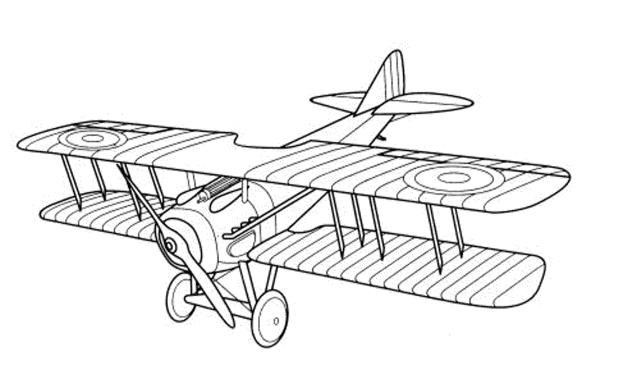 Old Airplane Coloring Pages At Getcolorings