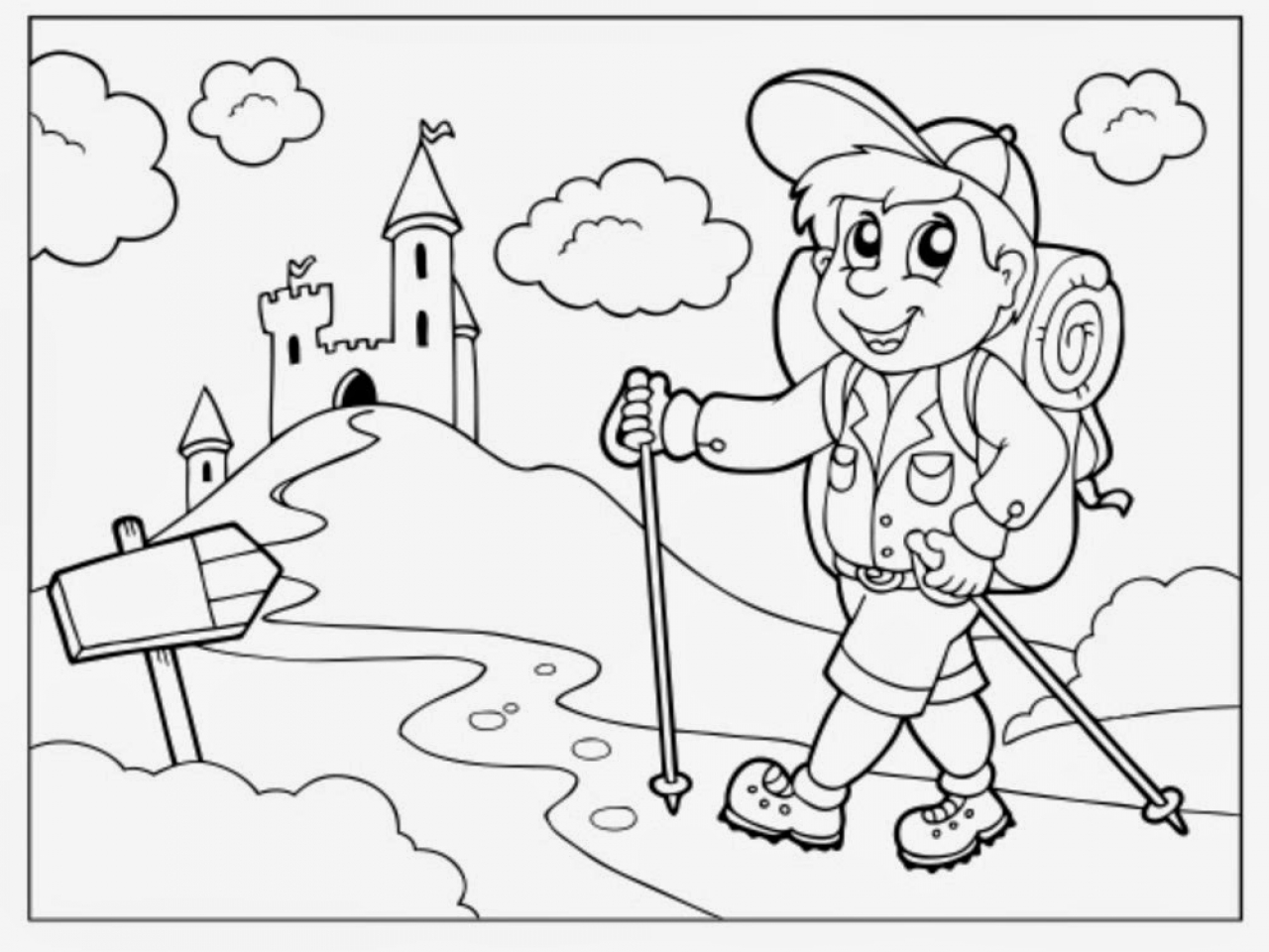 Oregon Trail Coloring Page At Getcolorings
