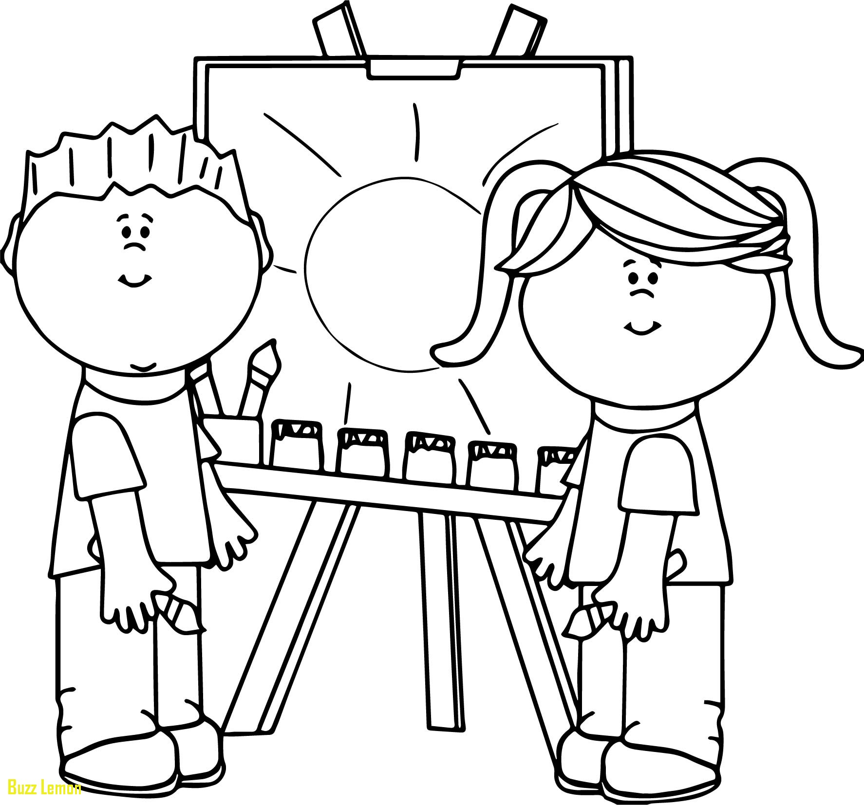 Paint Palette Coloring Pages At Getcolorings