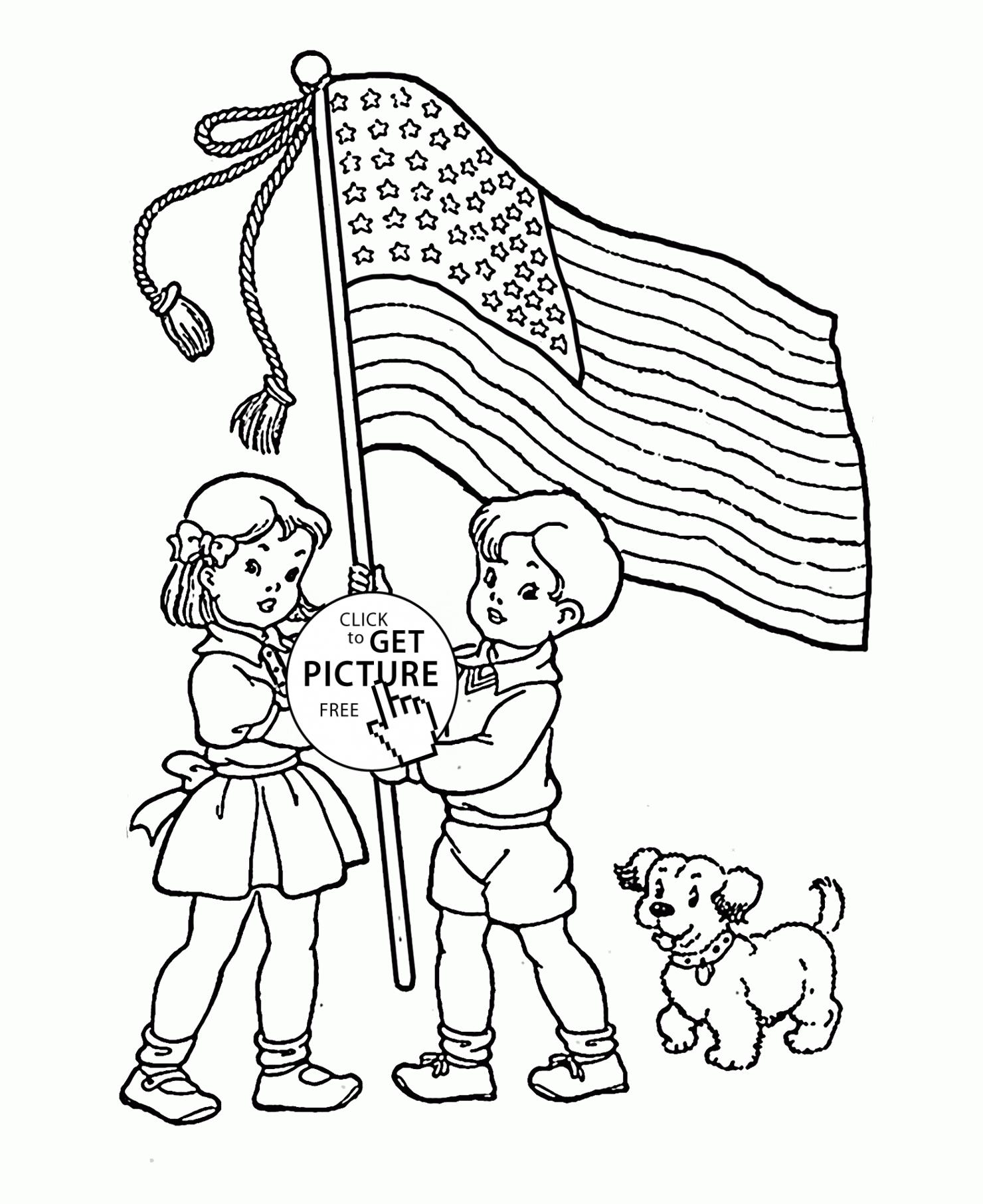 Patriotic Printable Coloring Pages At Getcolorings