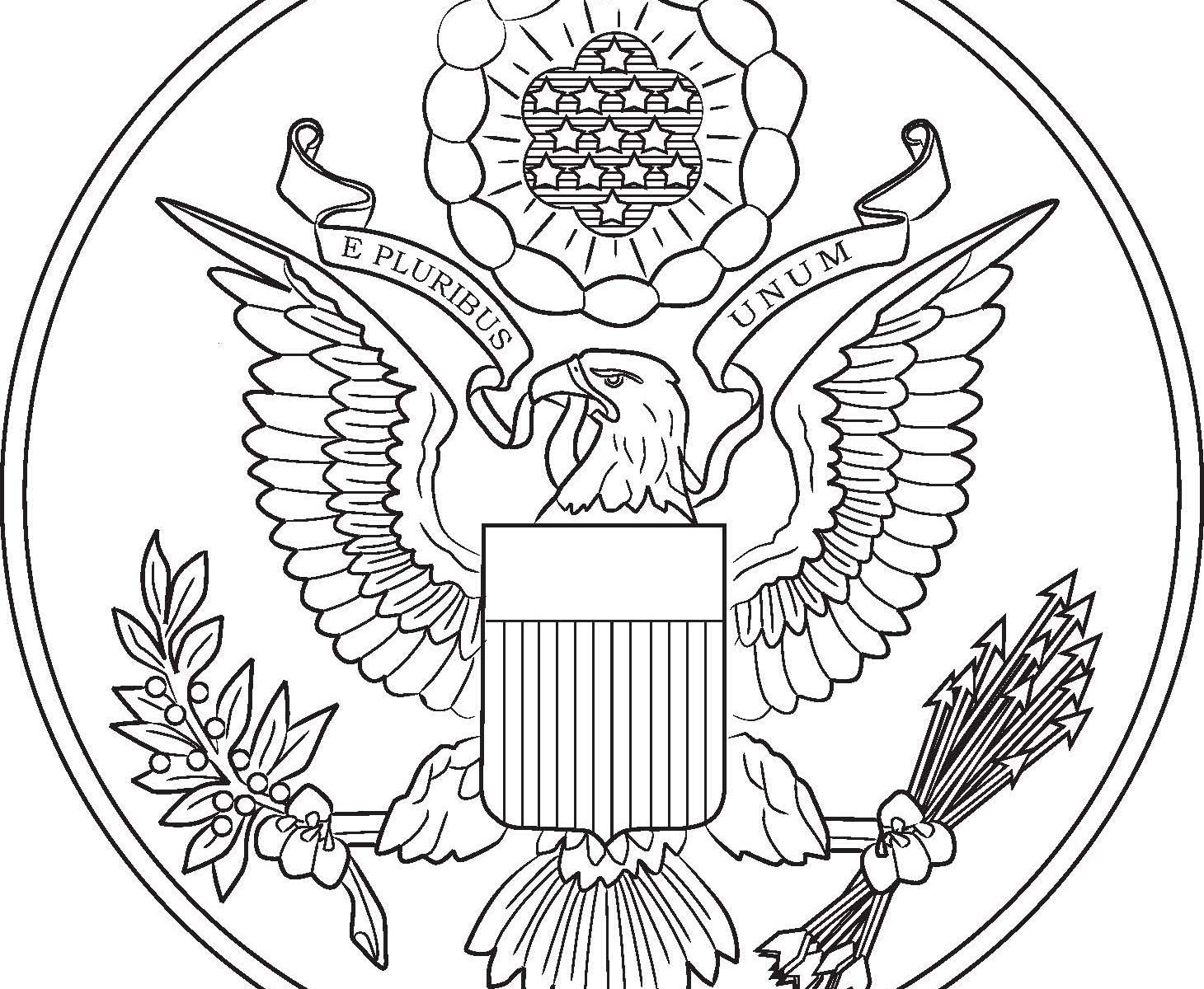 Patriotic Symbols Coloring Pages At Getcolorings