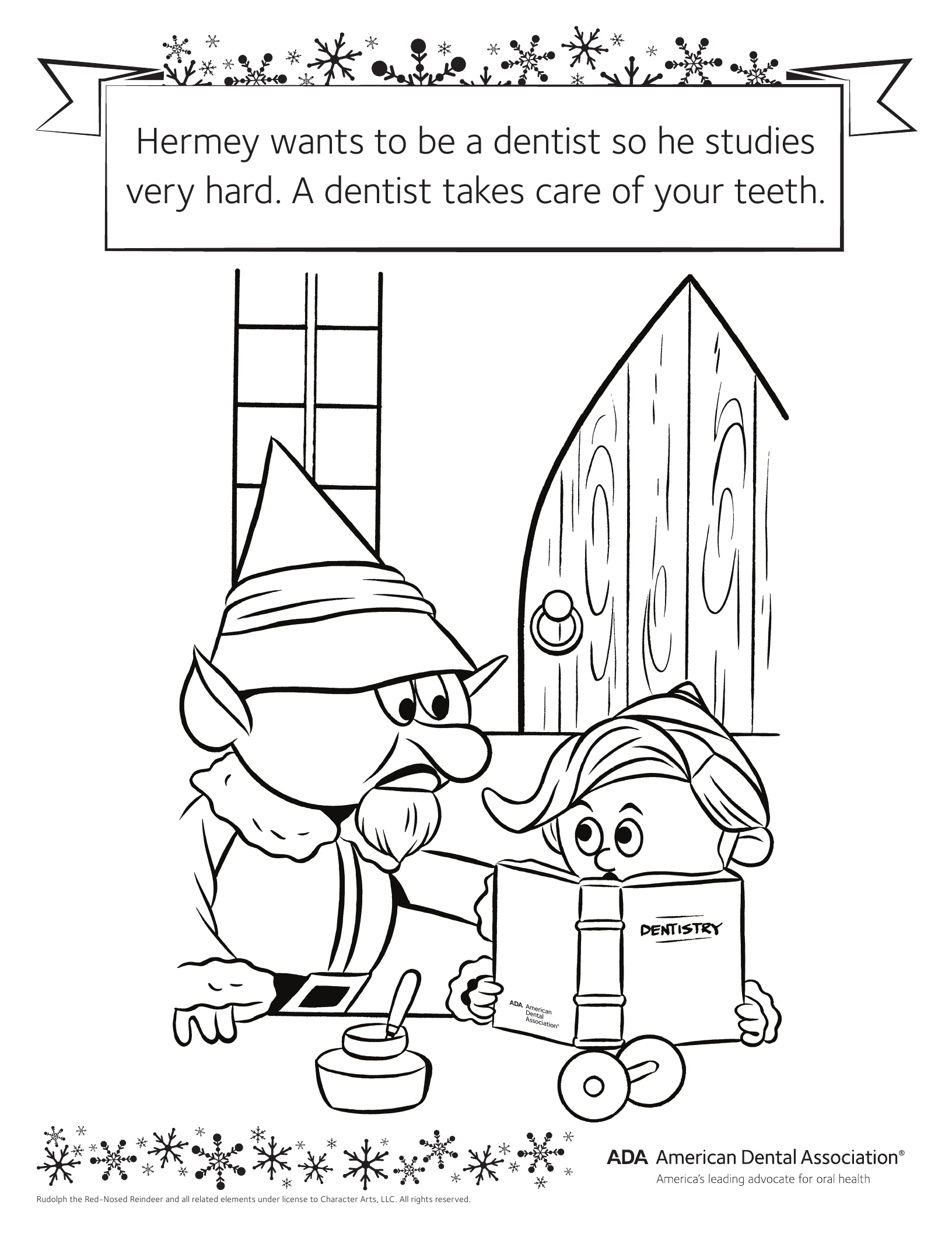 Dental Hygiene Coloring Pages At Getcolorings