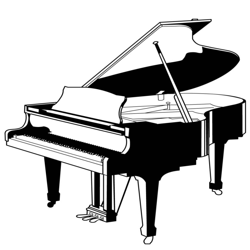 piano keyboard coloring page at getcolorings  free