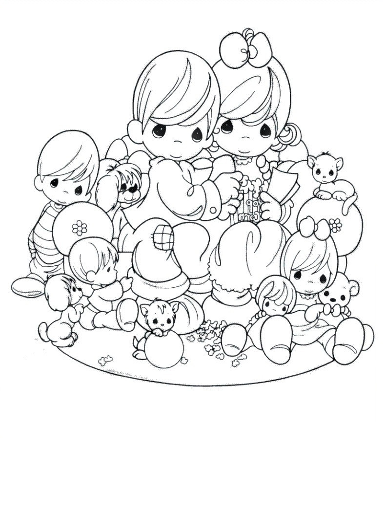 precious moments love coloring pages at getcolorings