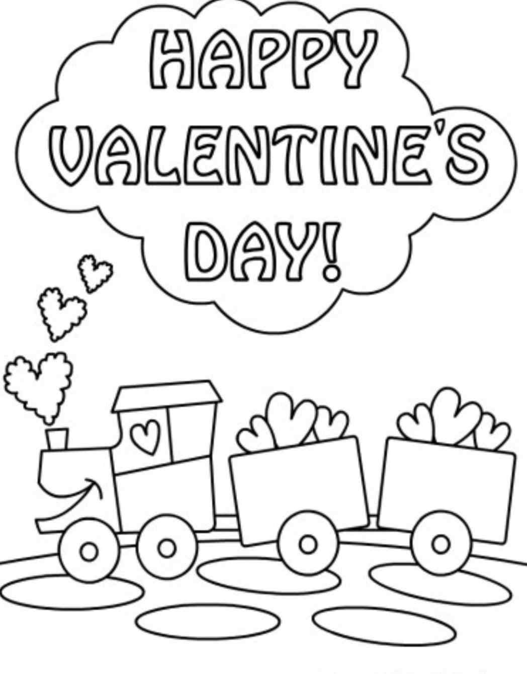 Print Out Valentines Day Coloring Pages At Getcolorings
