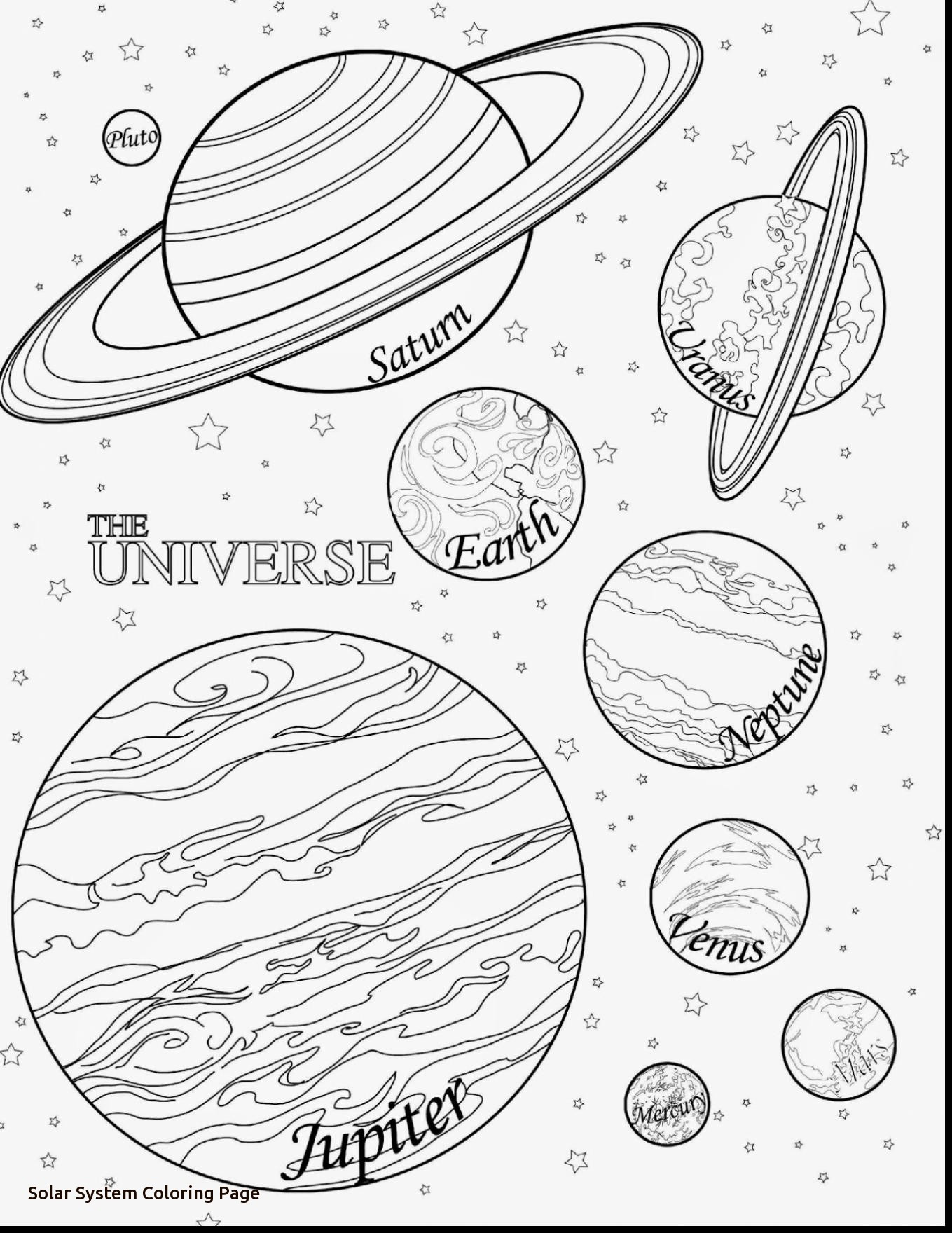 Printable Planet Coloring Pages At Getcolorings