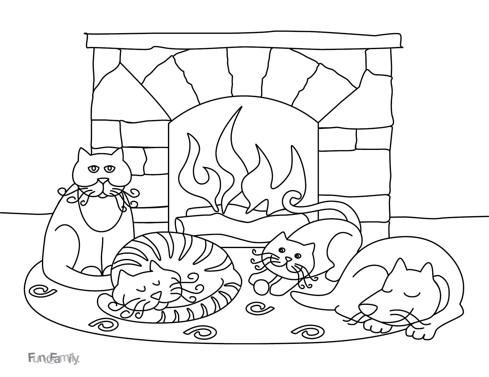 Printable Winter Coloring Pages For Kids At Getcolorings