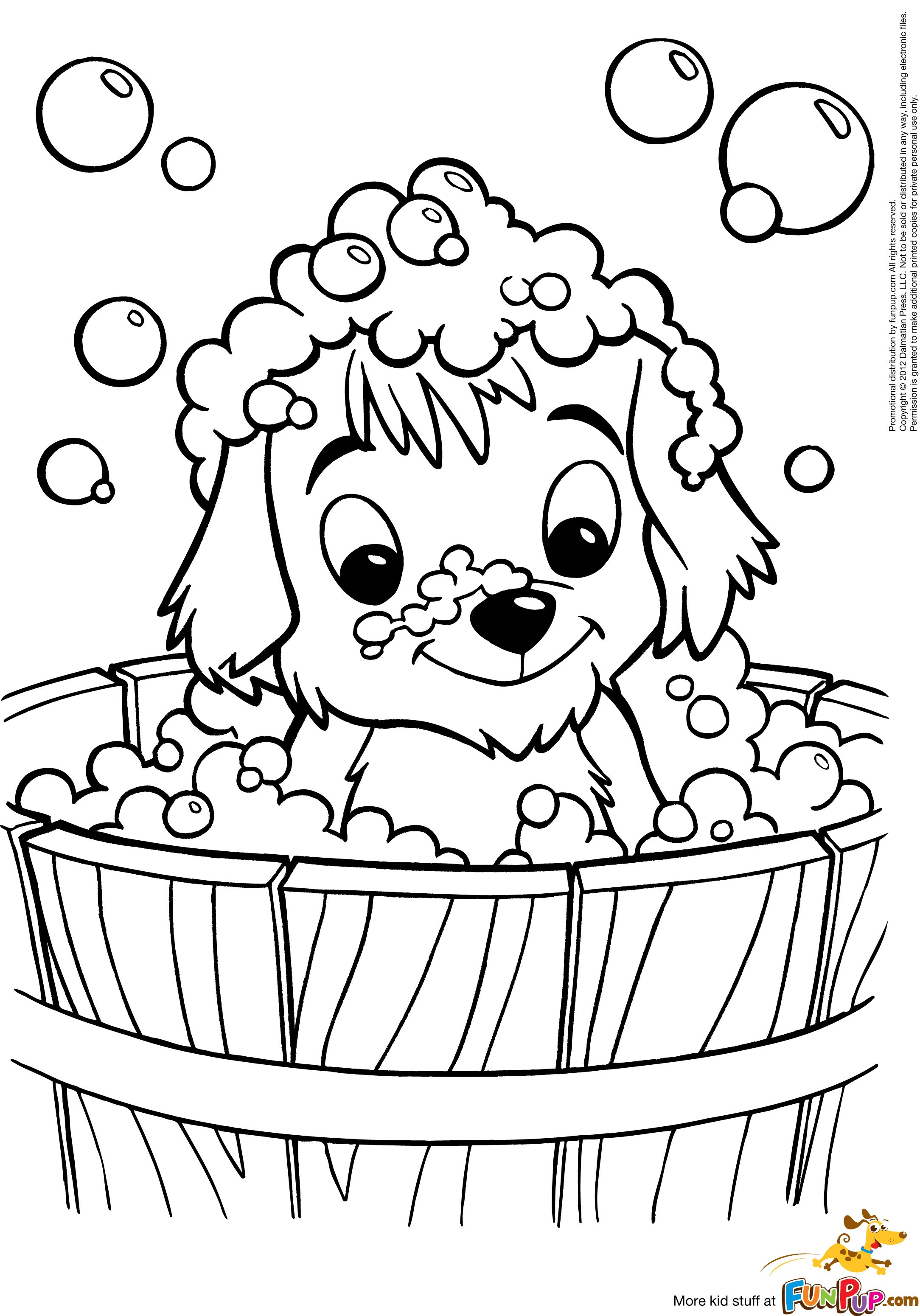 Puppy Love Coloring Pages At Getcolorings
