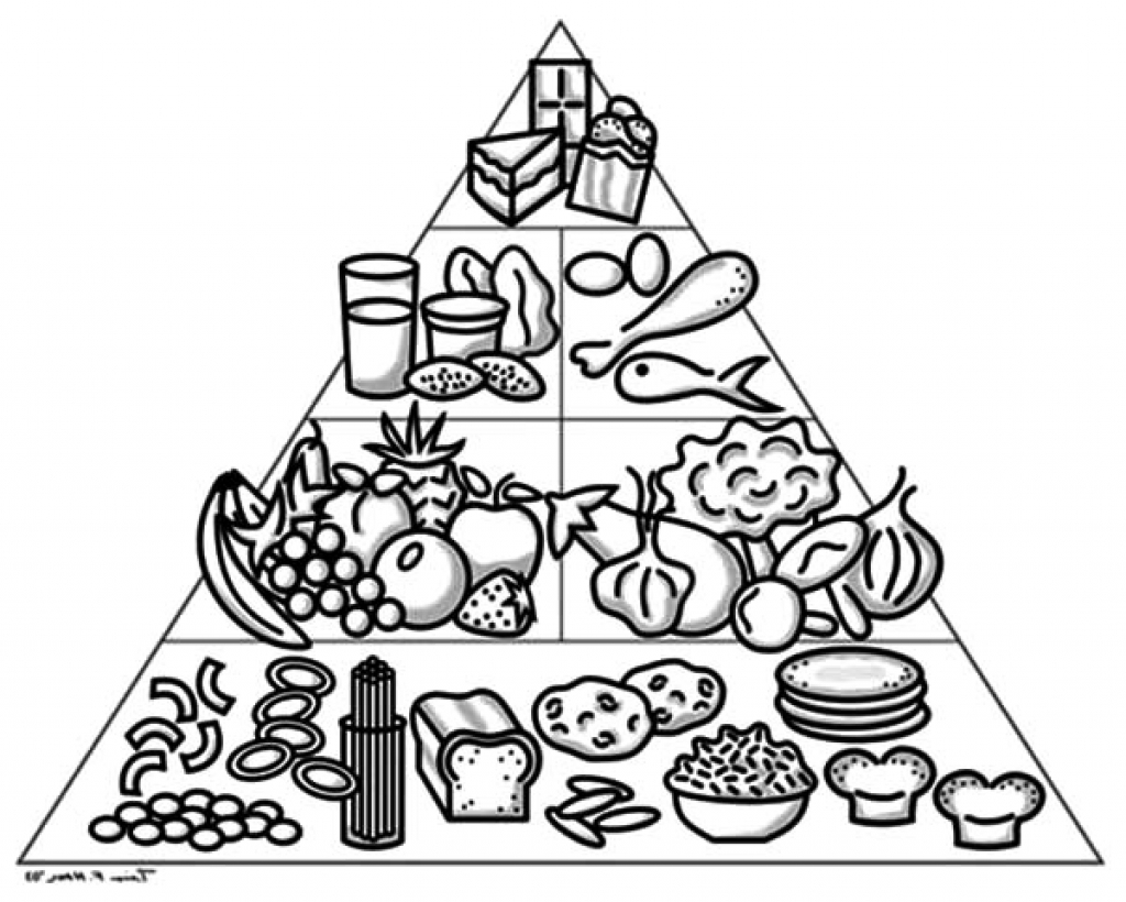 Pyramid Coloring Page At Getcolorings