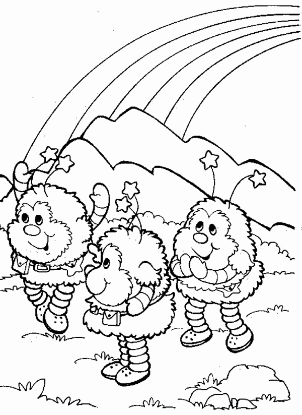 rainbow brite coloring pages # 26