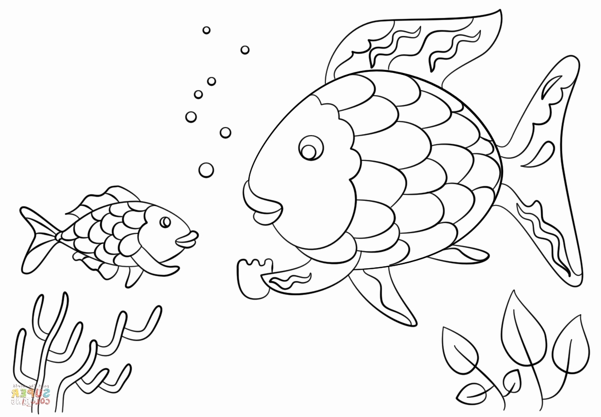 Rainbow Fish Coloring Page At Getcolorings