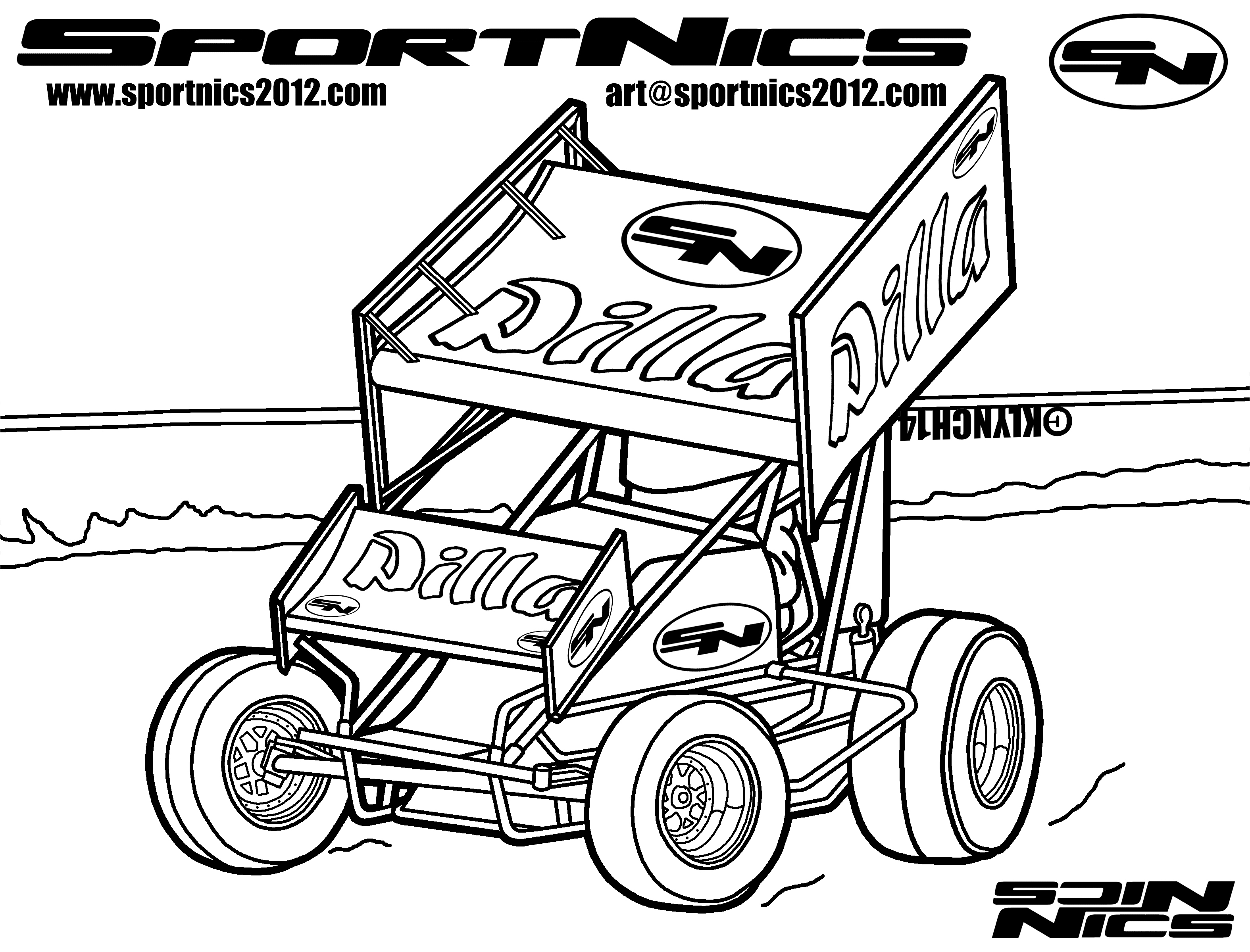 Rc Car Coloring Pages At Getcolorings