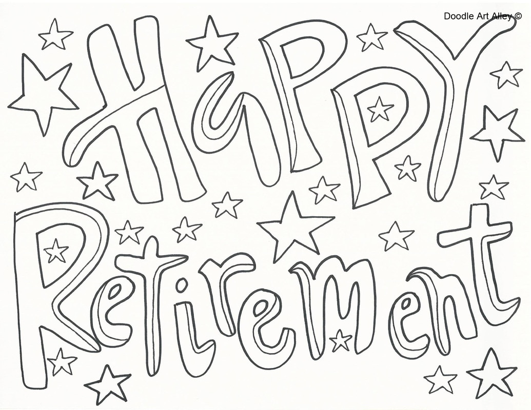 Retirement Coloring Pages At Getcolorings