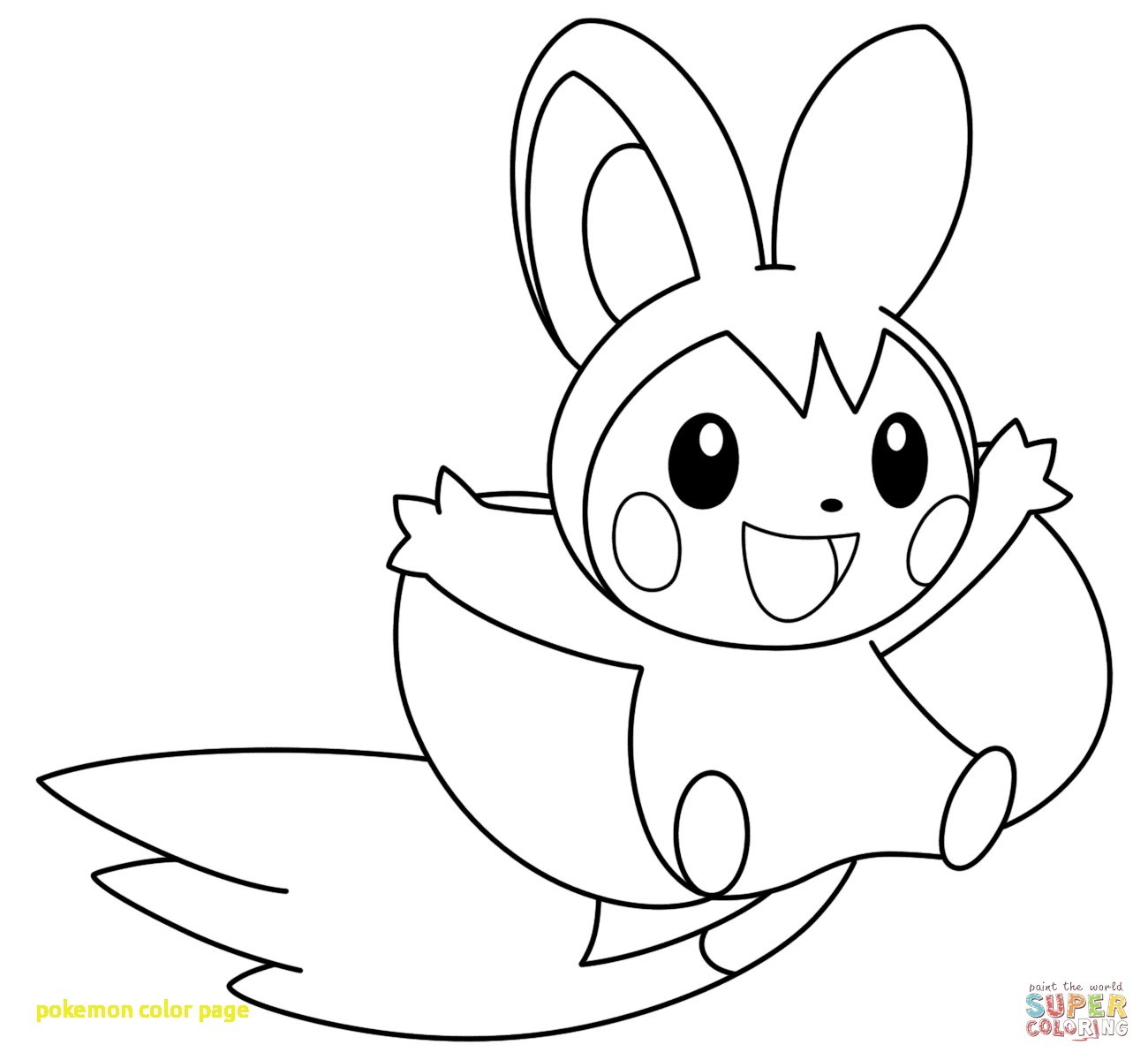 Riolu Coloring Page At Getcolorings
