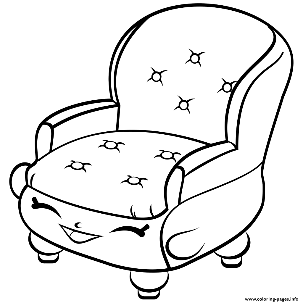 Rocking Chair Coloring Page At Getcolorings