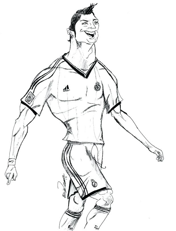 ronaldo coloring pages at getcolorings  free