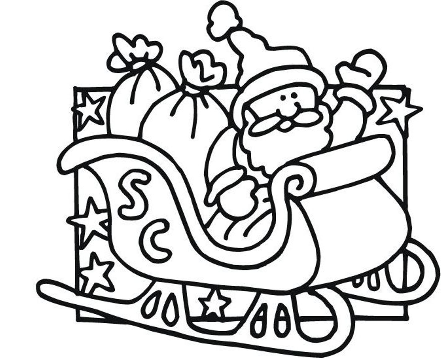 Santa Claus Coloring Pages Free Printables At Getcolorings