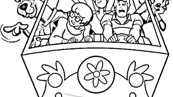 scooby doo gang coloring pages at getcolorings  free