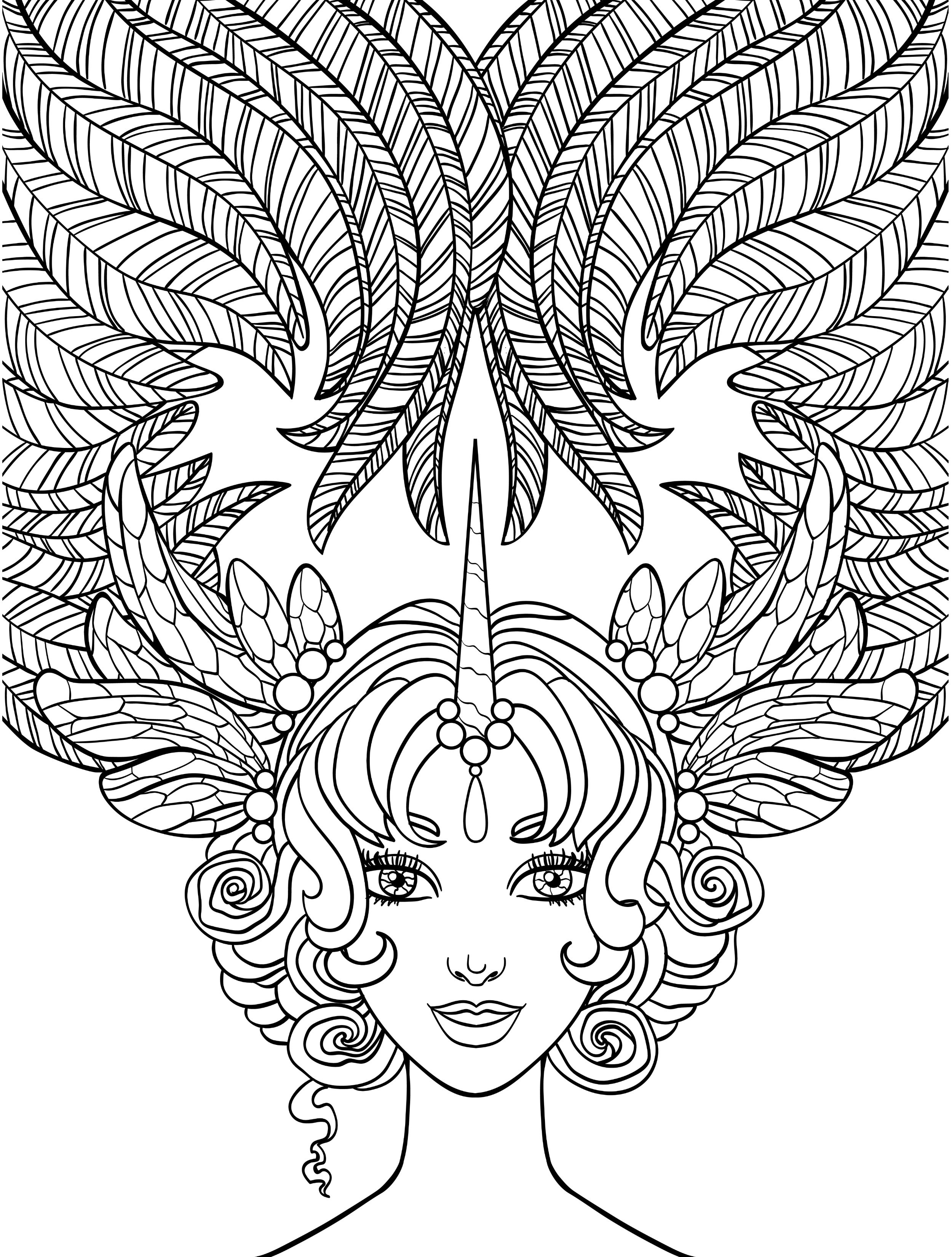 Self Coloring Pages At Getcolorings