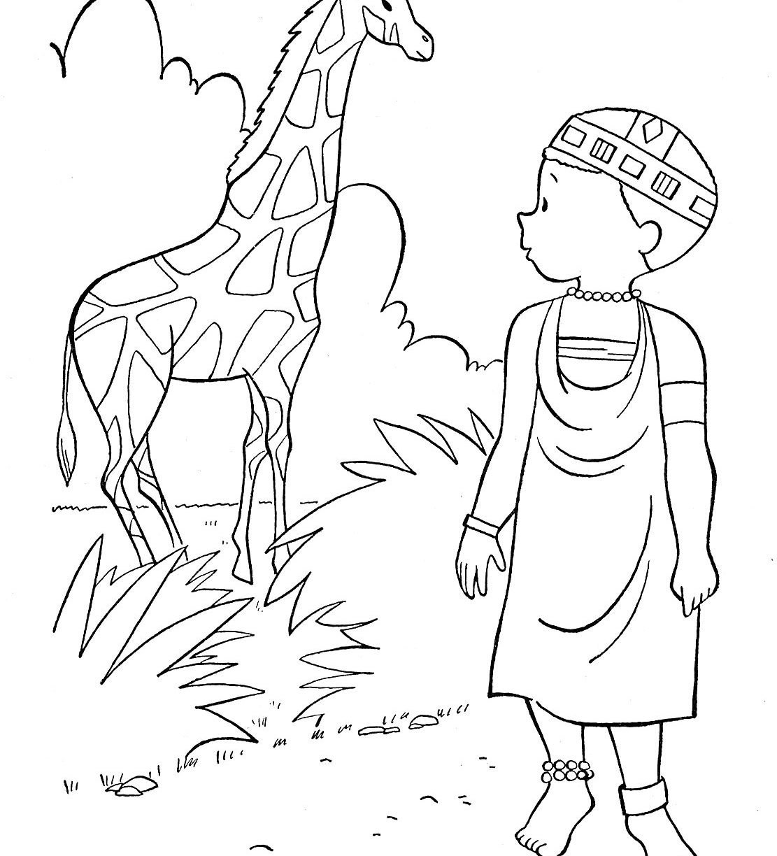Seven Continents Coloring Page At Getcolorings
