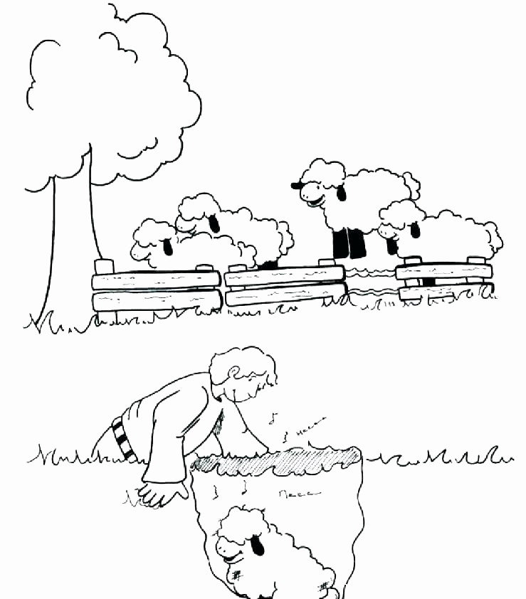 sheep coloring pages preschool at getcolorings  free