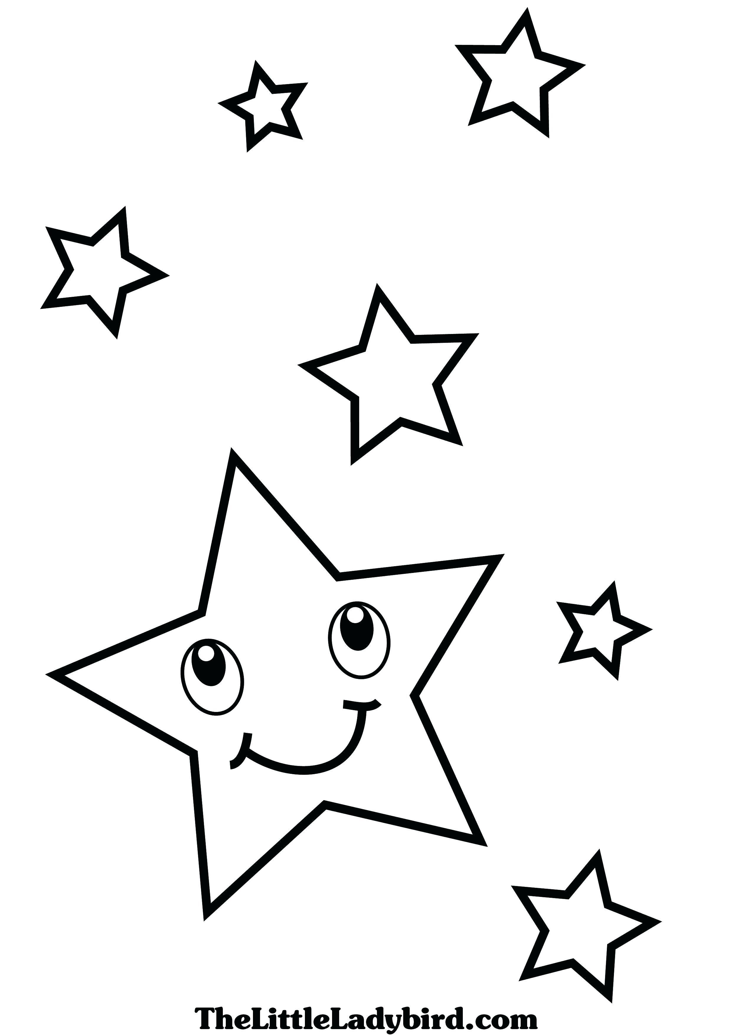 Shooting Star Coloring Page At Getcolorings