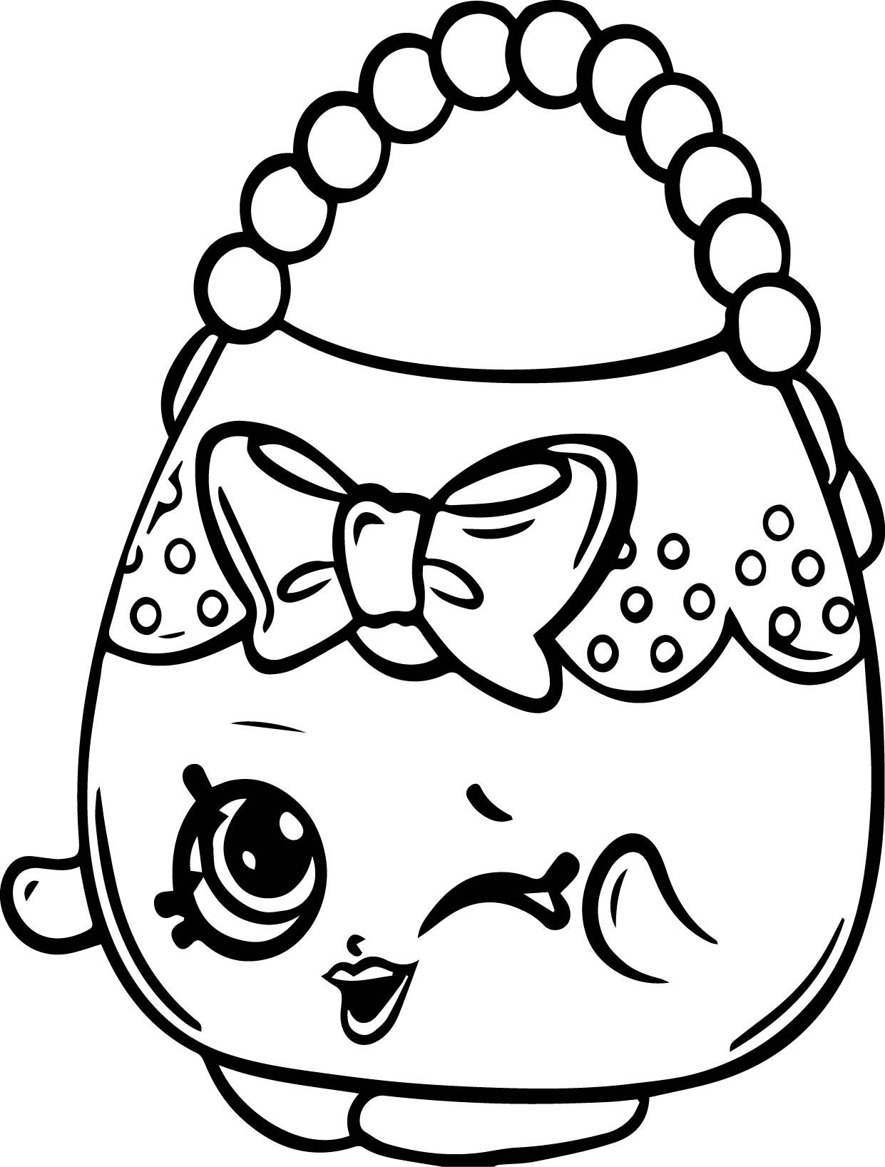 Shopkins Coloring Pages Cupcake Queen At Getcolorings