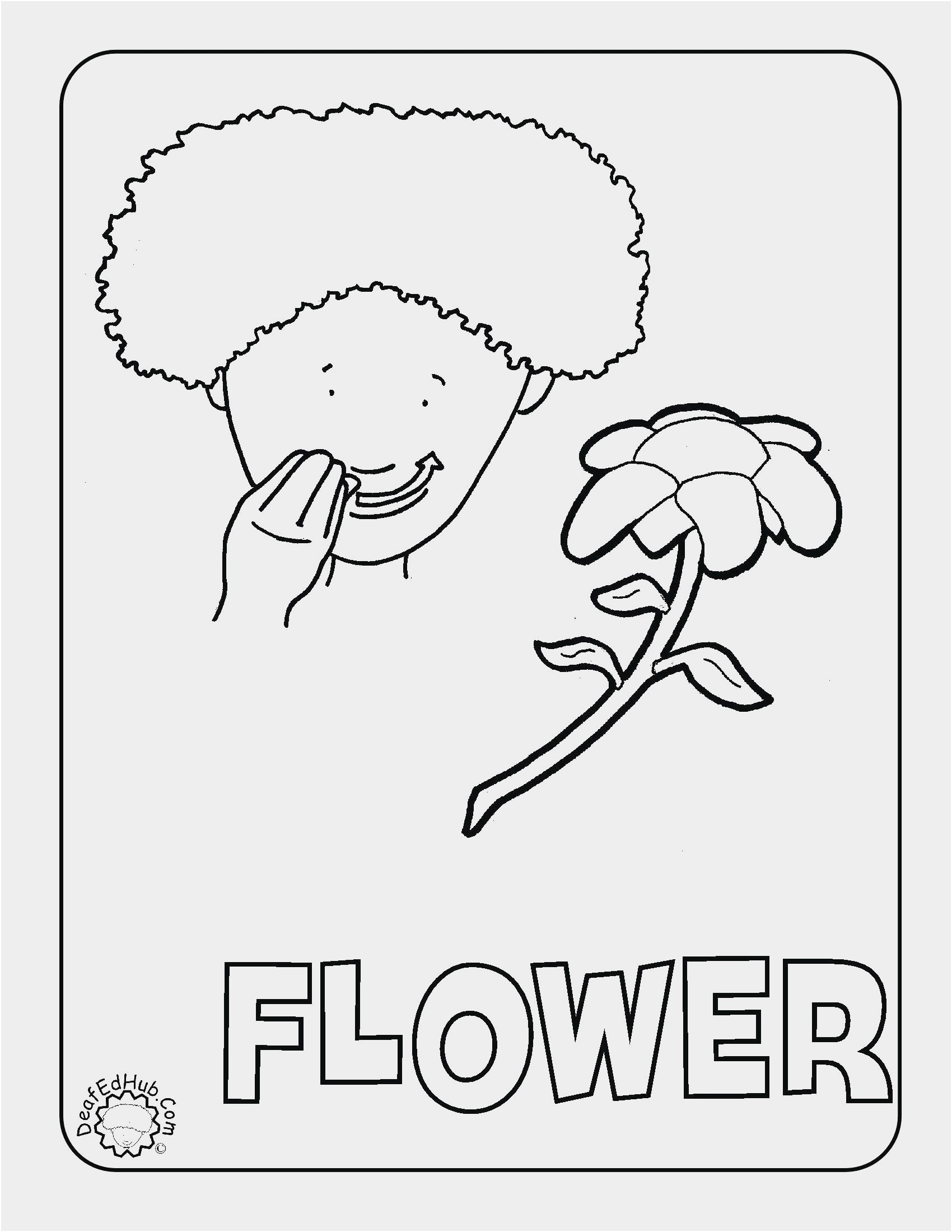 Sign Language Coloring Pages At Getcolorings
