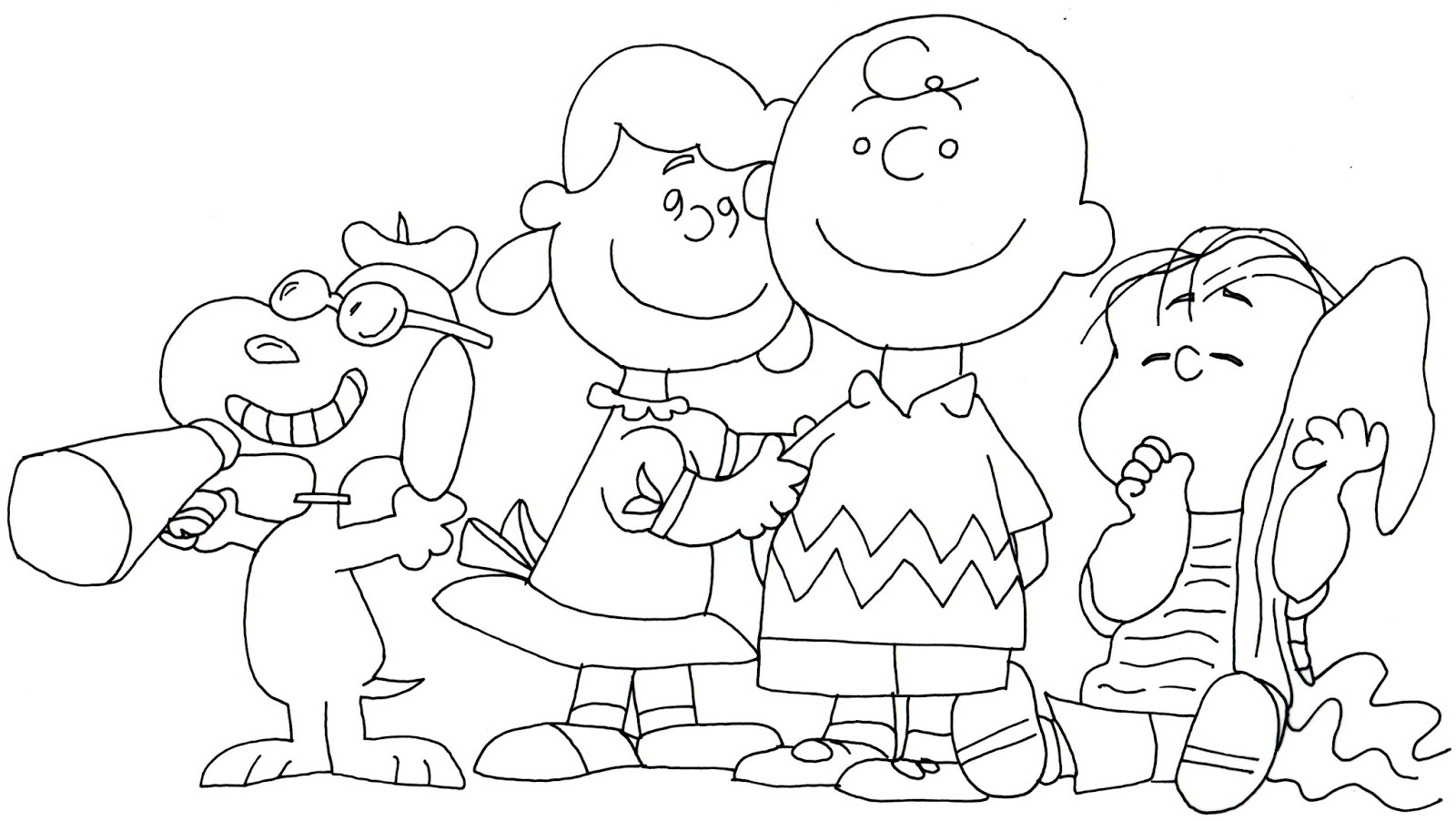 Snoopy Printable Coloring Pages At Getcolorings