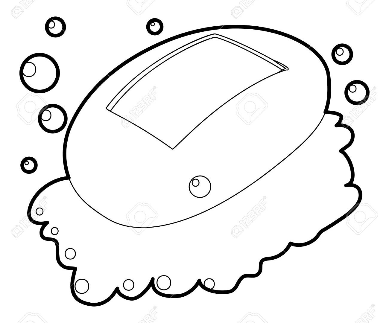 Soap Coloring Page At Getcolorings